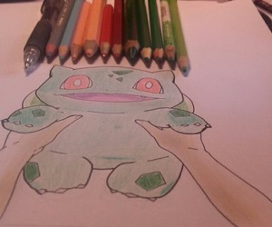 color, drawing, and pokemon image