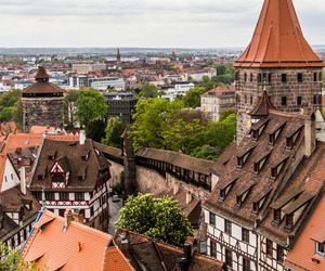 city, germany, and Nuremberg image