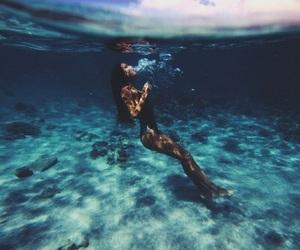 art, ass, and sea image