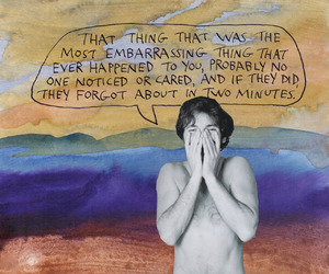 art, quote, and michael lipsey image