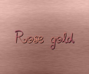 colors, gold, and rose image