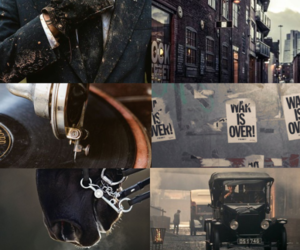 aesthetic, peaky blinders, and tommy shelby image