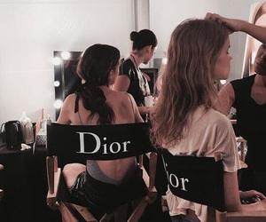 dior, model, and makeup image