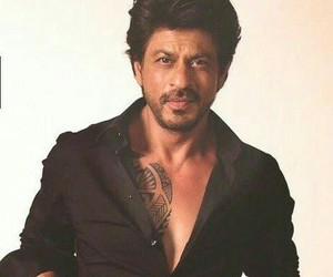 actor, handsome, and shahrukh khan image