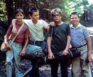 stand by me, river phoenix, and corey feldman image