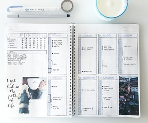 bullet, journal, and filofax image