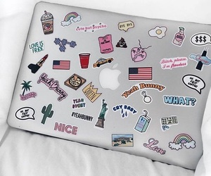 apple and sticker image