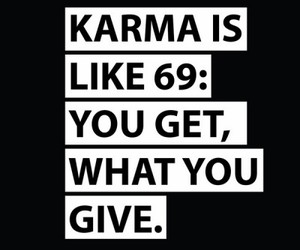 karma, phrases, and quotes image