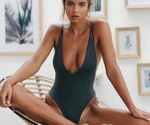 beautiful and bikini image
