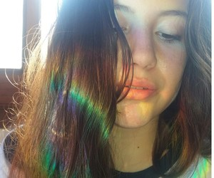 arcoiris, green, and multicolor image