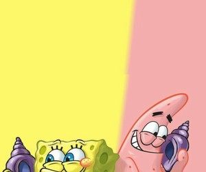 wallpaper, background, and patrick image
