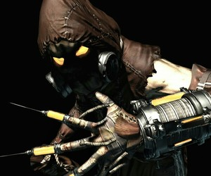 arkham, batman, and Arkham Asylum image