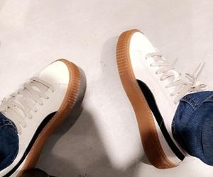 shoes, pumas, and slay image