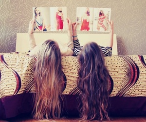 girl, love, and bff image