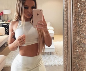 blonde, tammy hembrow, and iphone image
