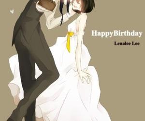 yuu kanda, kanlena, and anime wedding image