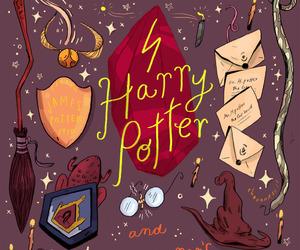 fanart, harry potter, and école des sorciers image
