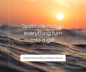 gift, quote, and gratitude image