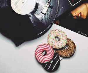 donuts, mood, and love image