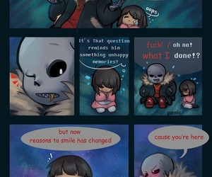 comic, sans, and frisk image