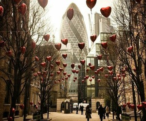 balloons and hearts image