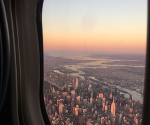 adventure, airplane, and cities image