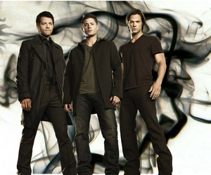 supernatural, winchester, and castiel image