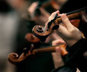 music, violin, and photography image