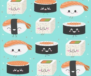 sushi, wallpaper, and background image