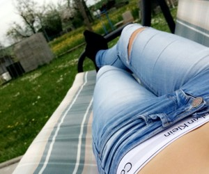 belly, Calvin Klein, and piercing image