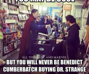 benedict cumberbatch, Marvel, and doctor strange image
