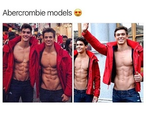 A&F, beautiful, and boys image