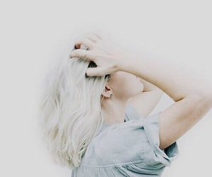 noora, hair, and white image