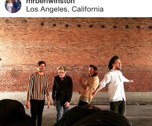 history, ben winston, and one direction image