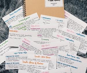 art, journal, and studyblr image