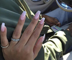 nails, ghetto, and rings image