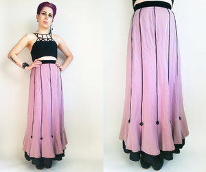 1930s, etsy, and long skirt image