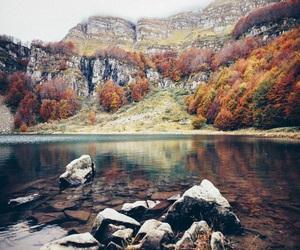 nature, landscape, and autumn image
