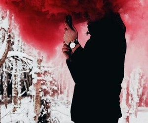 red, wallpaper, and lockscreen image