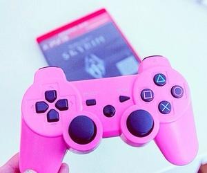 girly, pink, and playstation image