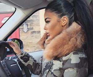 fashion, hair, and car image