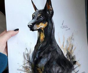 acrylic, animal, and art image