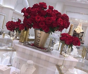 rose, luxury, and red image