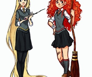 brave, cartoon, and harry potter image