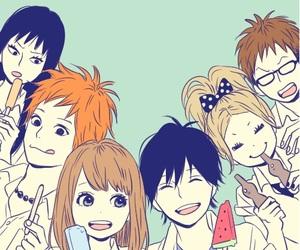 anime, orange, and manga image