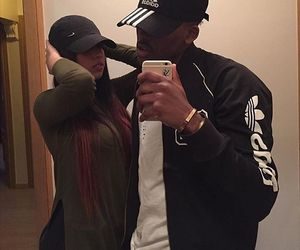 couple and nike image