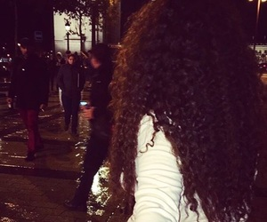 curly hair and paris image