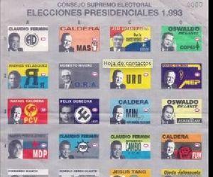 venezuela, 1993, and presidenciales image
