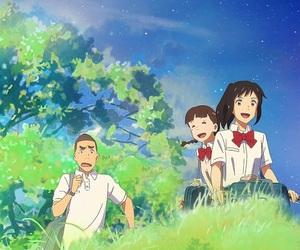 anime, background, and manga image