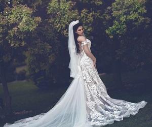 زفاف, عروس, and فستان image